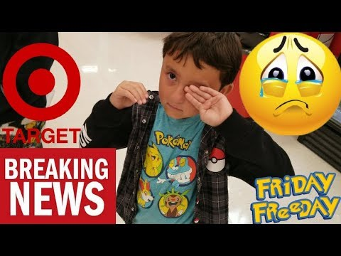 TARGET MAKES ETHAN CRY! KICKED OUT FOR TRYING TO BUY TOYS ...
