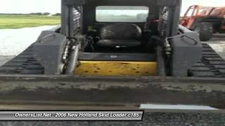 2006 New Holland Skid Loader c185 JJ002