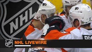 NHL LiveWire: Flyers, Penguins mic
