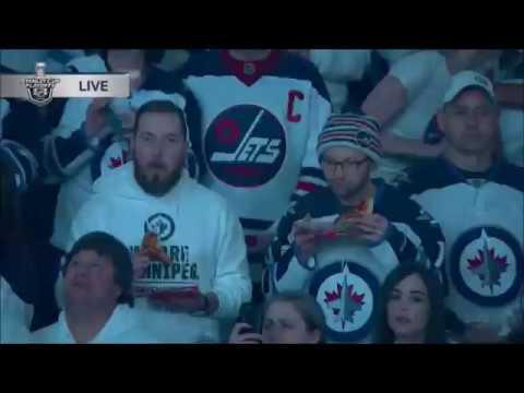 Pregame Intro/Anthems - Minnesota Wild vs Winnipeg Jets WCQF Game 1 04/11/18