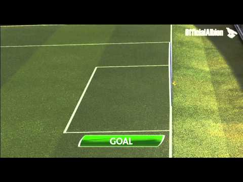 Hawk Eye Goal Decision System proves Vydra goal crossed line