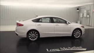 2017 Ford Fusion Platinum - Standard and Optional Equipment