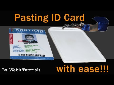Pasting ID Card Tutorial (Short and Complete Guide)