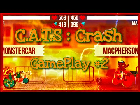 C.A.T.S : Crash || The Laser over power !!!|| GamePlay #2