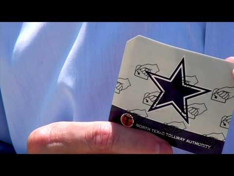 Dallas Cowboys TollTag -NTTA
