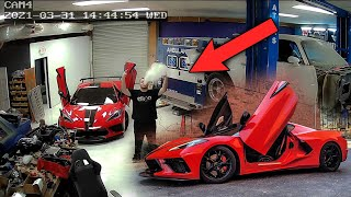 This Guy Broke Into My Shop and installed Lambo Doors on my Corvette