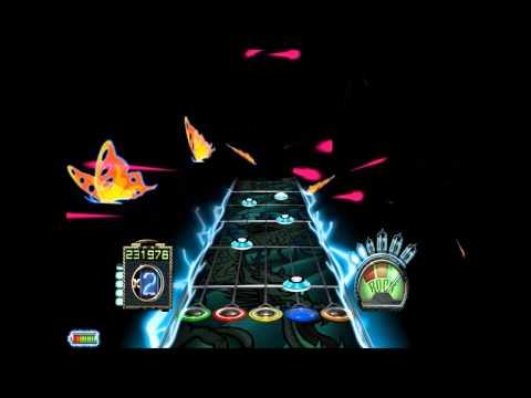 Guitar Hero 3: Less Talk More Rokk + full custom fret board.