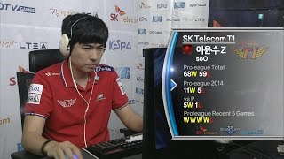 [SPL2014] soO(SKT) vs herO(CJ) Set2 King Sejong Station -EsportsTV, SPL2014