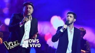"""Shows en vivo #TeamSole: Lucas y Darío cantan """"Historia de ..."""