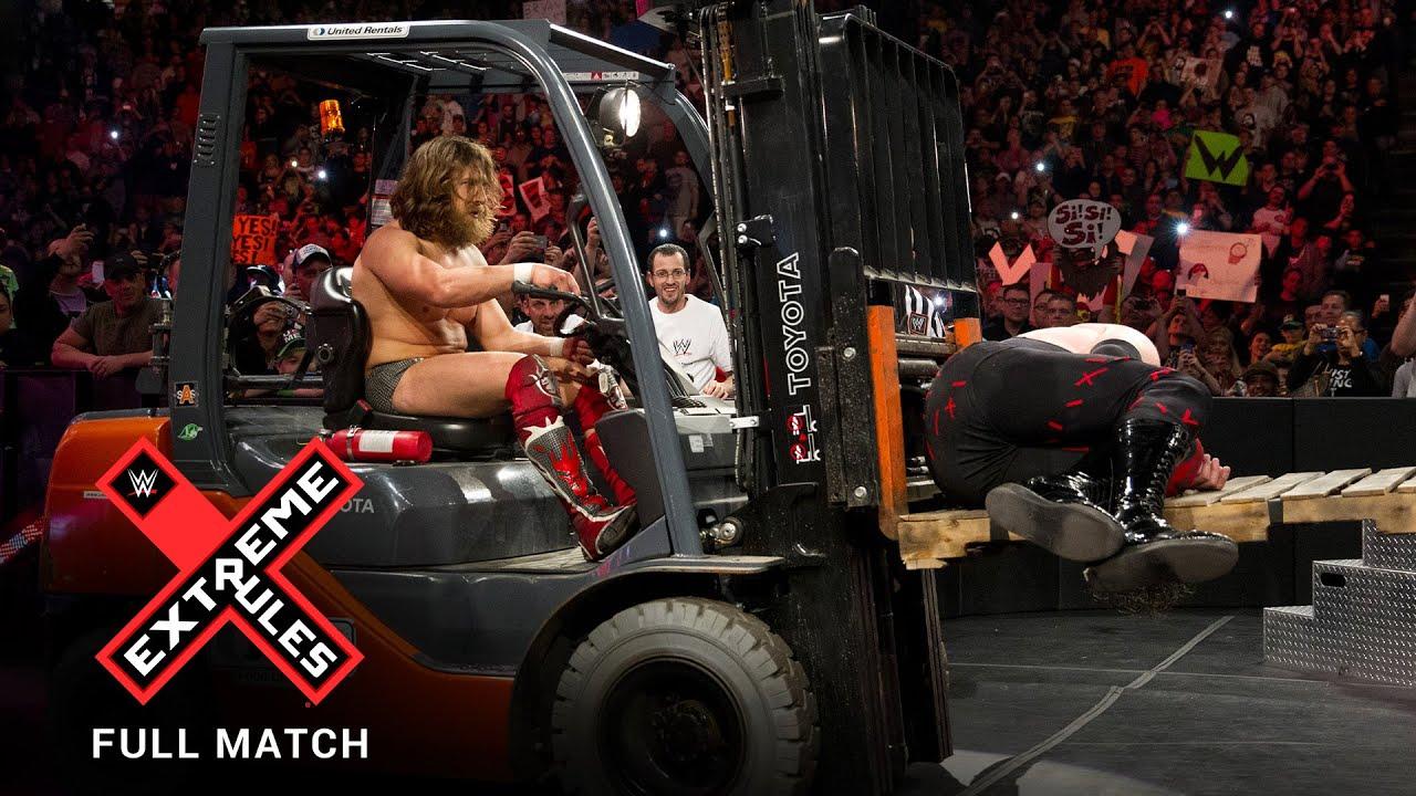 Download FULL MATCH - Daniel Bryan vs. Kane - WWE Title Extreme Rules Match: WWE Extreme Rules 2014