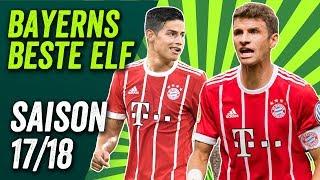 Boateng, Tolisso, James - Bayern Münchens Beste Elf der Saison 2017/18
