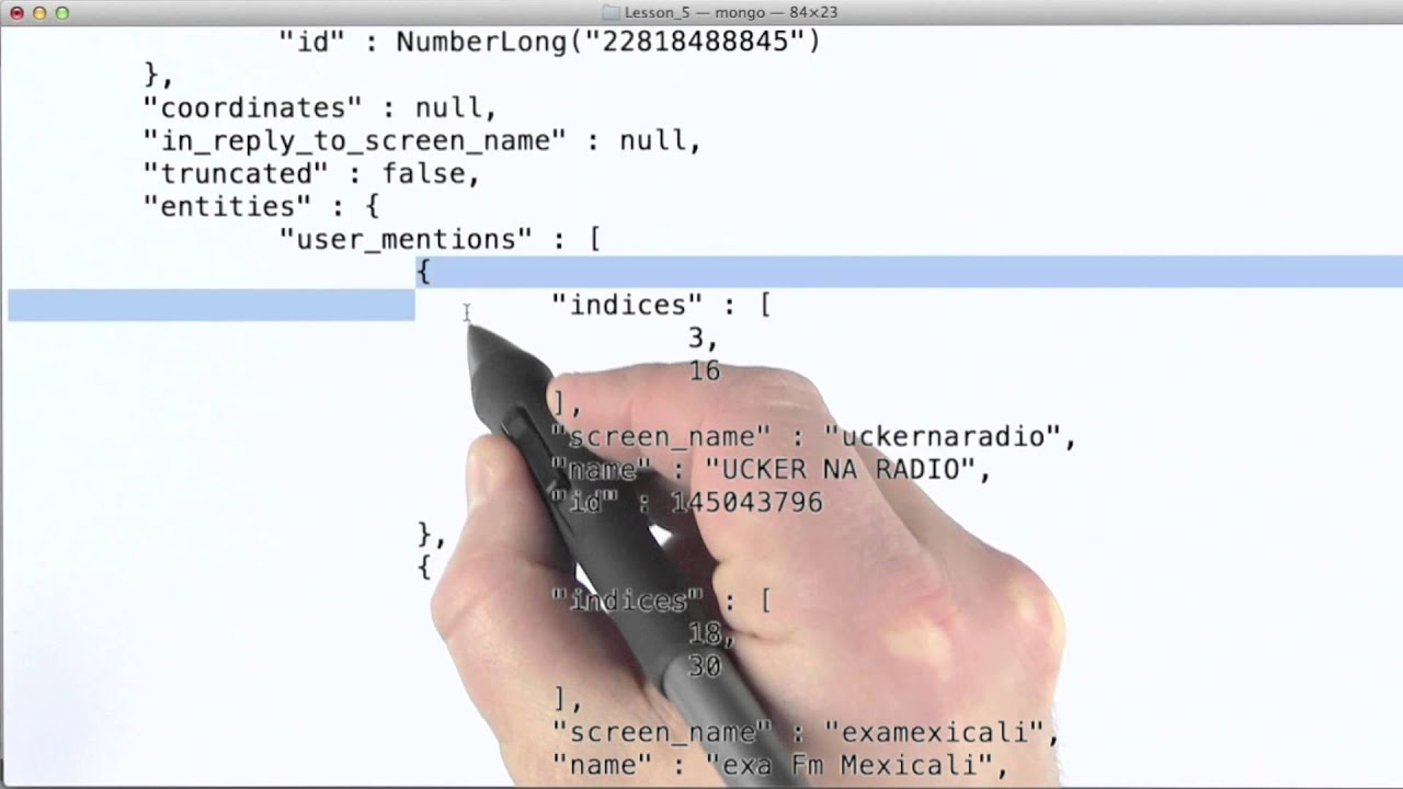Unwind Operator - Data Wranging with MongoDB