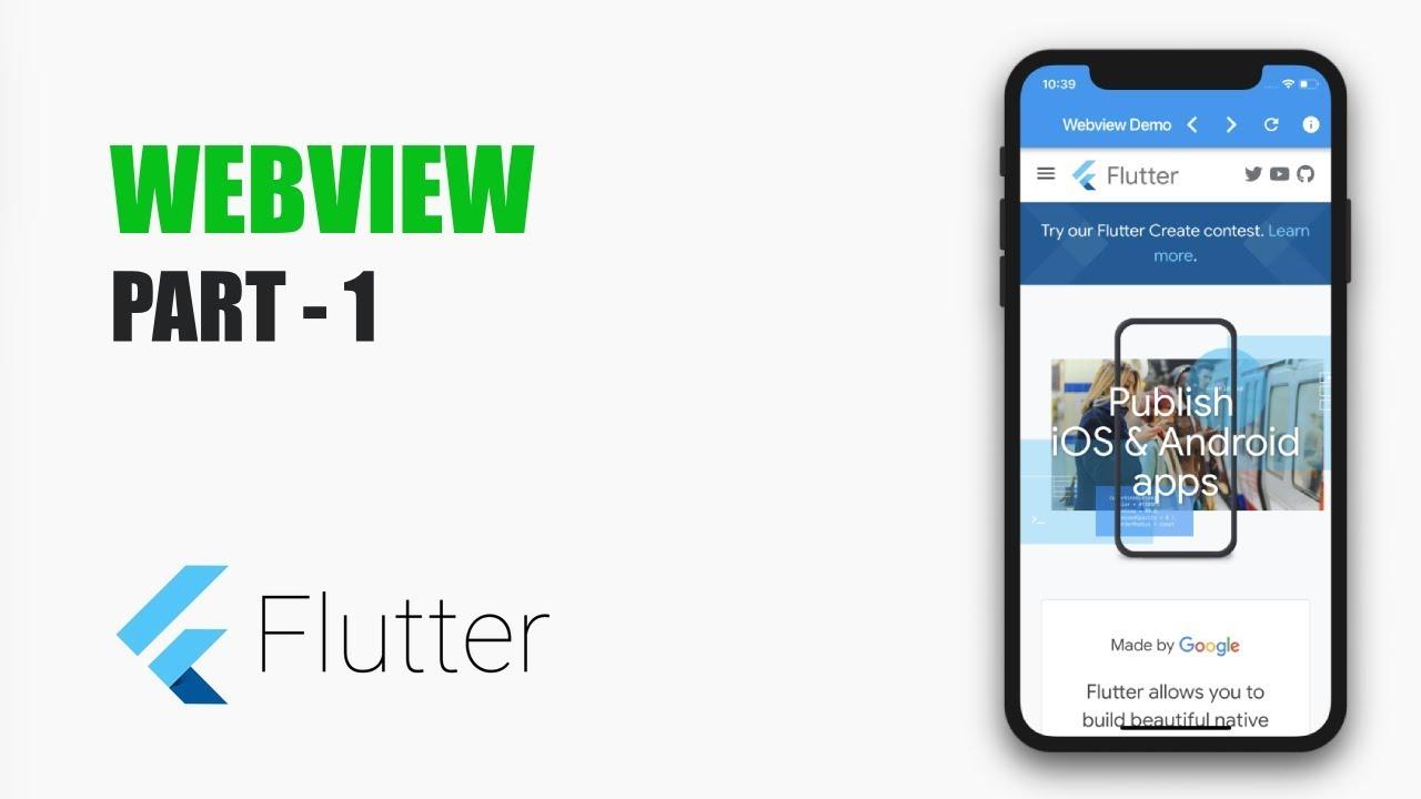 Using Webview in Flutter – Part 1 – MOBILE PROGRAMMING