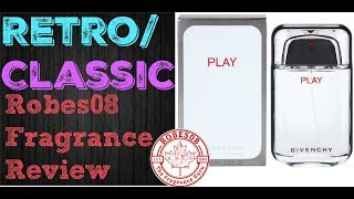 Retro: Play for Men by Givenchy Fragrance Review (2008)