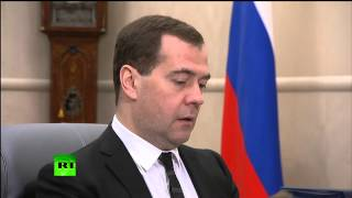 Дмитрий Медведев отменил нулевую вывозную пошлину на газ для Украины