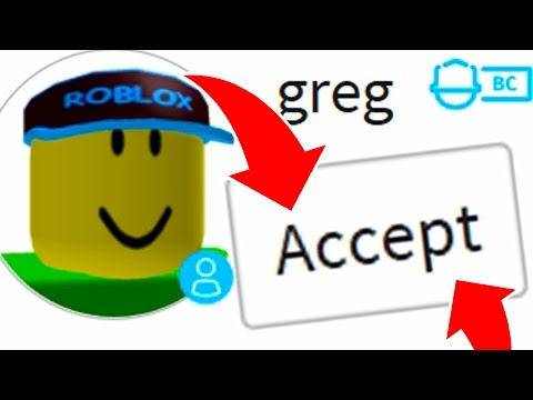 Do NOT Add GREG Account as a FRIEND in ROBLOX