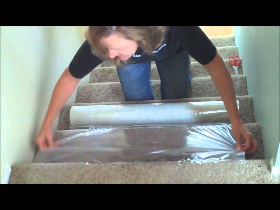 How To Protect Carpeted Stairs Youtube
