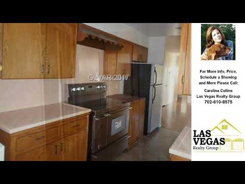 Nice 1709 South 14TH Street, Las Vegas, NV Presented By Carolina Collins.