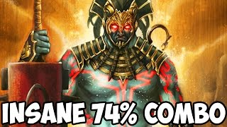 Mortal Kombat X: INSANE 74% COMBO WITH KOTAL KAHN! - Mortal Kombat XL Random Character Select