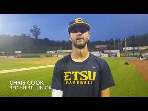 ETSU Baseball Post-game Interviews - April 23, 2017
