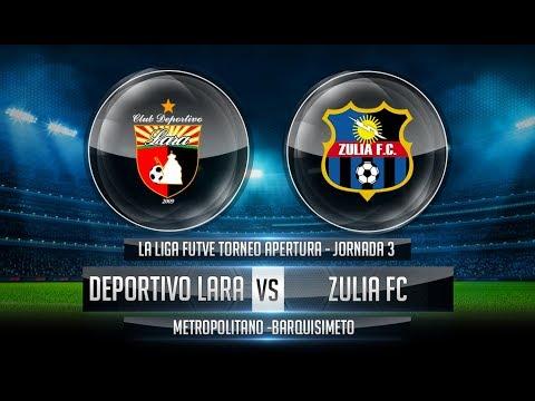 PES VENEZUELA 2018   Torneo Apertura 2018 J3 - Deportivo Lara Vs Zulia FC