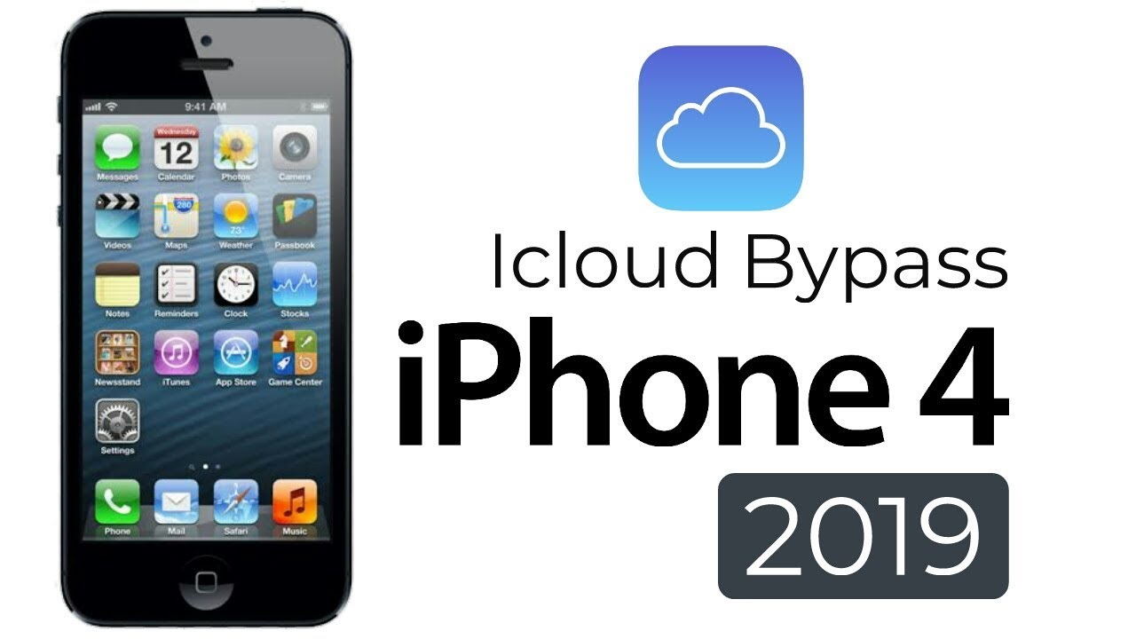 Bypass iCloud Activation Lock iPhone 4 (7 1 2) 2019 New Method