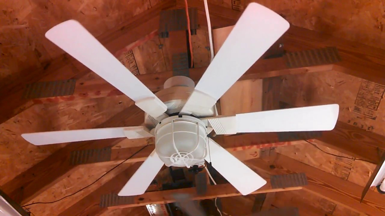 Homestead mirage ceiling fan with integrated light youtube homestead mirage ceiling fan with integrated light aloadofball Choice Image