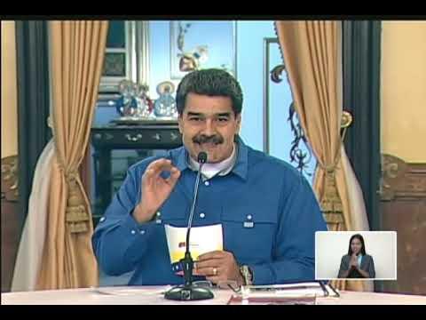 Maduro agradece apoyo de Jesse Jackson y Codepink, denuncia agresión de EEUU a su embajada