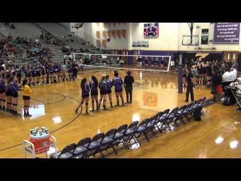 Durango vs Spring Valley, girls Volleyball 9-21-2015 at Durango