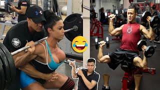 Những Gã Ngu Ngốc Tập Gym 🤣🤣🤣  Những Tình Huống Xấu Hổ Của Dân Thể Hình Trong Phòng Gym