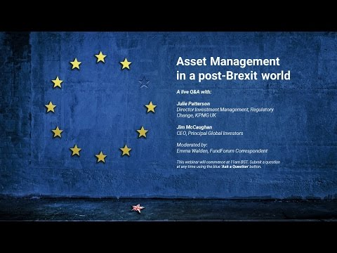Asset Management in a post-Brexit world