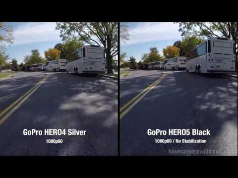 Gopro Hero 5 Vs Hero 4 >> Gopro Hero4 Silver Vs Hero5 Black