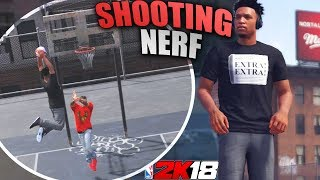 NBA 2K18 Playgrounds: Self Pass Alley-Oop! Contested Shots Nerf?