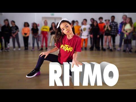 RITMO - The Black Eyed Peas J Balvin  Kids Street Dance  Sabrina Lonis Choreo