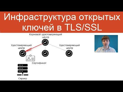 Инфраструктура открытых ключей в TLS/SSL   Защищенные сетевые протоколы