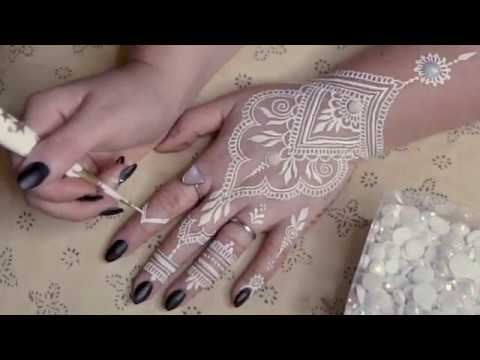 DIY WHITE HENNA | Supplies & How To Make