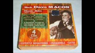 "UNCLE DAVE MACON: ""Grey Cat On The Tennessee Farm"""