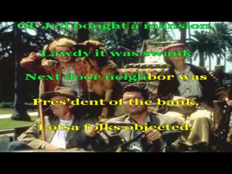 Beverly Hillbillies - Ballad Of Jed Clampett - Karaoke