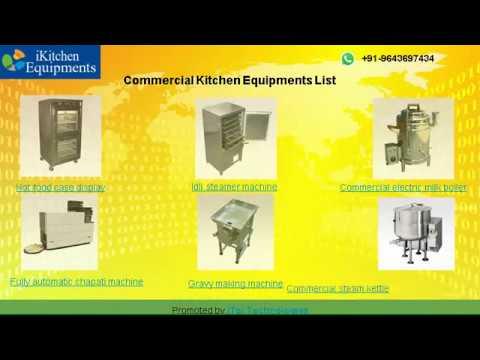 Commercial Kitchen Equipments Manufacturers in Delhi, India