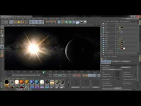 Free Solar System Cinema 4D
