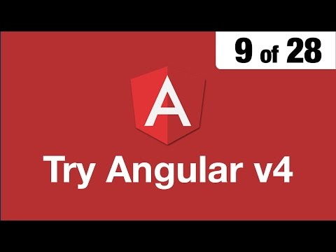 Try Angular v4 // 9 of 28 // Safely Embed a Video - YouTube