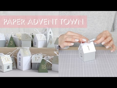 Paper Advent Town Instructions