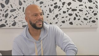 US musician and actor Common gives love the last word