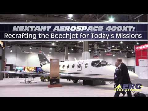 Aero-TV: Nextant Aerospace 400XT - Recrafting The Beechjet For Today's Missions