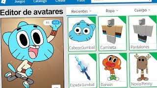 We created the PROFILE of GUMBALL in ROBLOX !! | Rovi23 Roblox