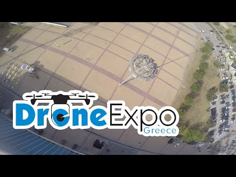 Athens drone expo - freestyle FPV