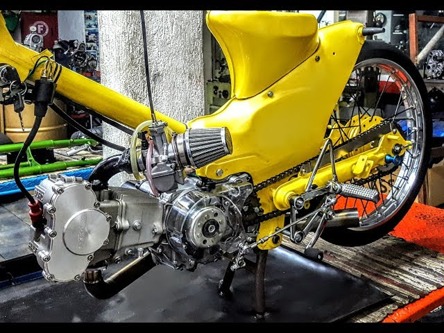 Sifneos Paros TAKEGAWA DOHC 4 VALVE 54X57 C50Z MODIFYING GARAGE