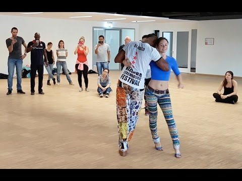 Semba Show with Djks Vasco and Sonja KikiZomba at Luxembourg Kizomba Festival 2017