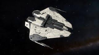 Elite Dangerous - AX Krait Class 3 Shard Cannons vs Cyclops