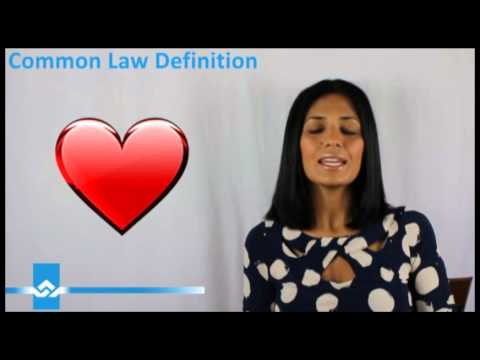 Definition Of Common Law
